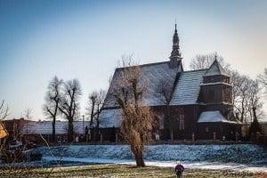 Kościół parafialny p.w. św. Michała Archanioła w Domachowie Gmina Krobia Biskupizna