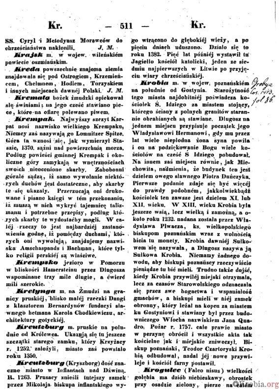 Starożytności Polskie 1842 rok. Strona 511 tom_1