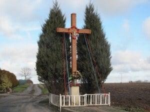 Przydrożny krzyż Chumiętki