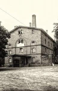 Pudliszki Widok fabryki od strony zachodniej