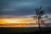 Zachód słońca nad Pudliszkami