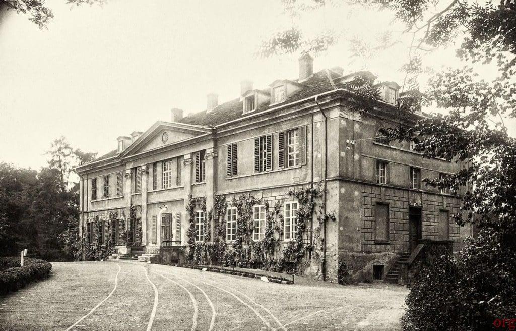 Pałac Pudliszki przed II wojną