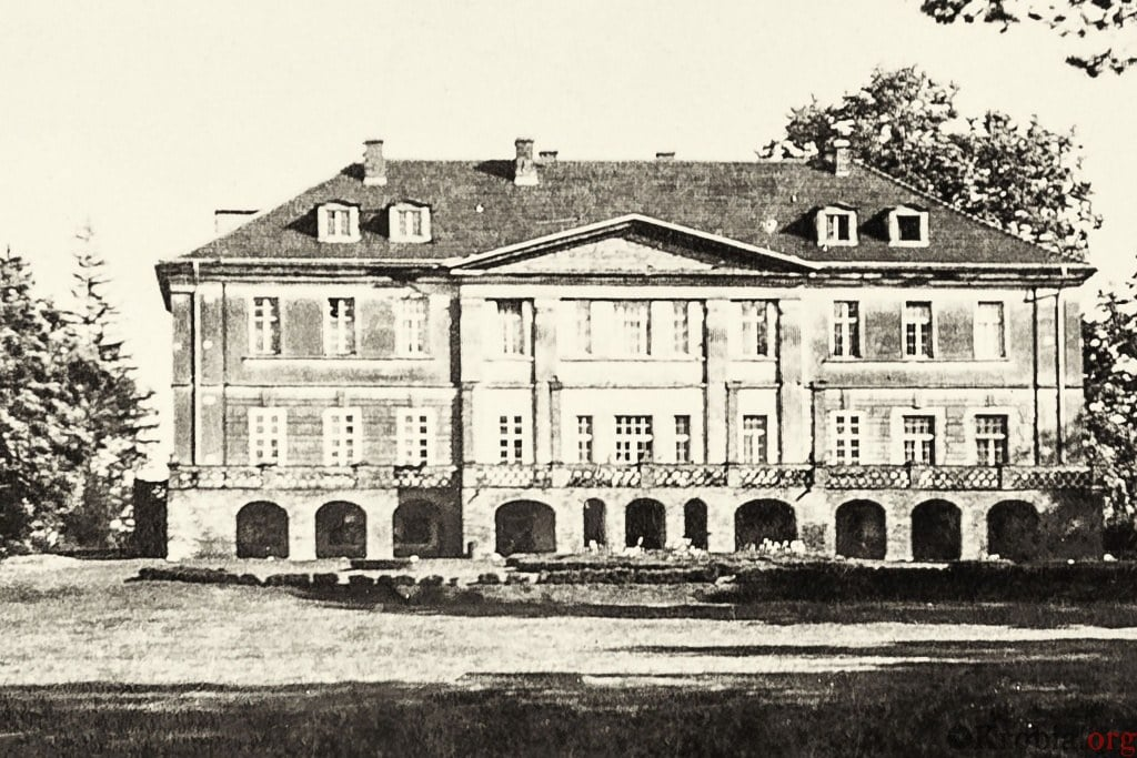 Pałac Pudliszki lata 30-te