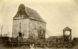 Kościół św. Idziego Krobia 1884 r.