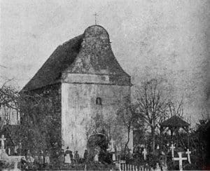 Kościół św. Idziego Krobia 1901 r.