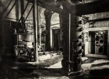 17 - Gorzenia - aparatownia oraz tablica rozdzielcza stacji elektr