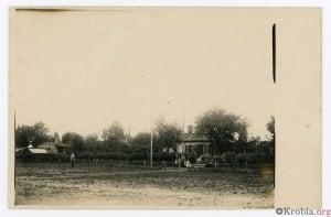 Ogród ludowy Sobierajski Krobia 1931