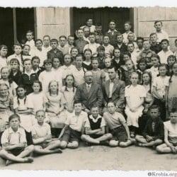 Krobia chór szkolny 1938
