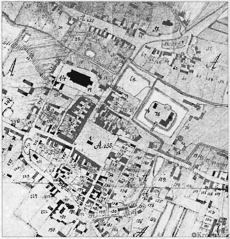 Plan Krobi 1796
