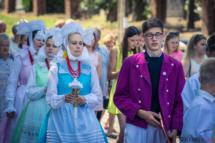 Domachowo gmina Krobia Boże Ciało 2018