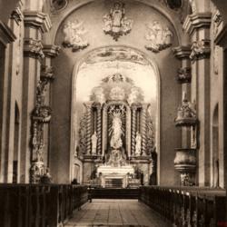Wnętrze Kościół Krobia